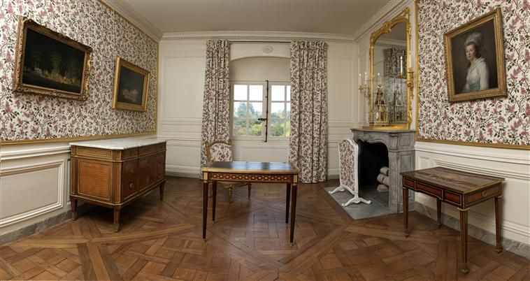visite petit trianon petit salon de mme elisabeth marie the french queen pinterest petit. Black Bedroom Furniture Sets. Home Design Ideas