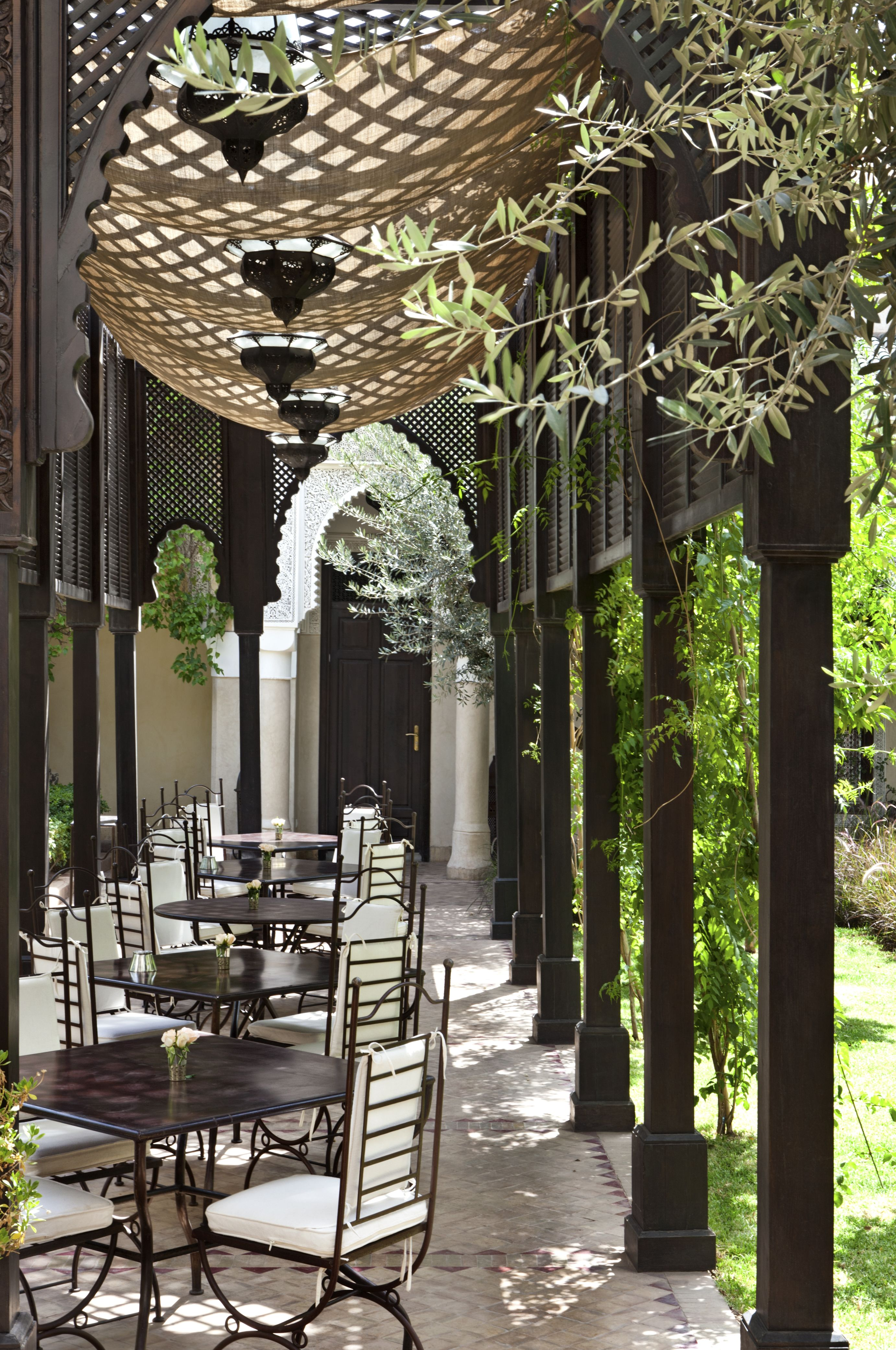 Marrakech Villa Des Orangers Luxury Hotel Design Dream Patio Hotels Design