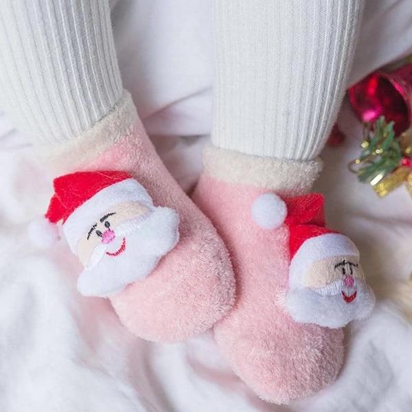 Baby Anti-Slip Sock Cute Infant Cotton Cartoon Animal Xmas Floor Winter stocking