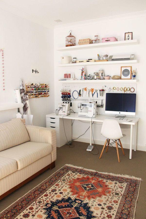 Photo of 2015 Tour of my workroom — megan nielsen design diary