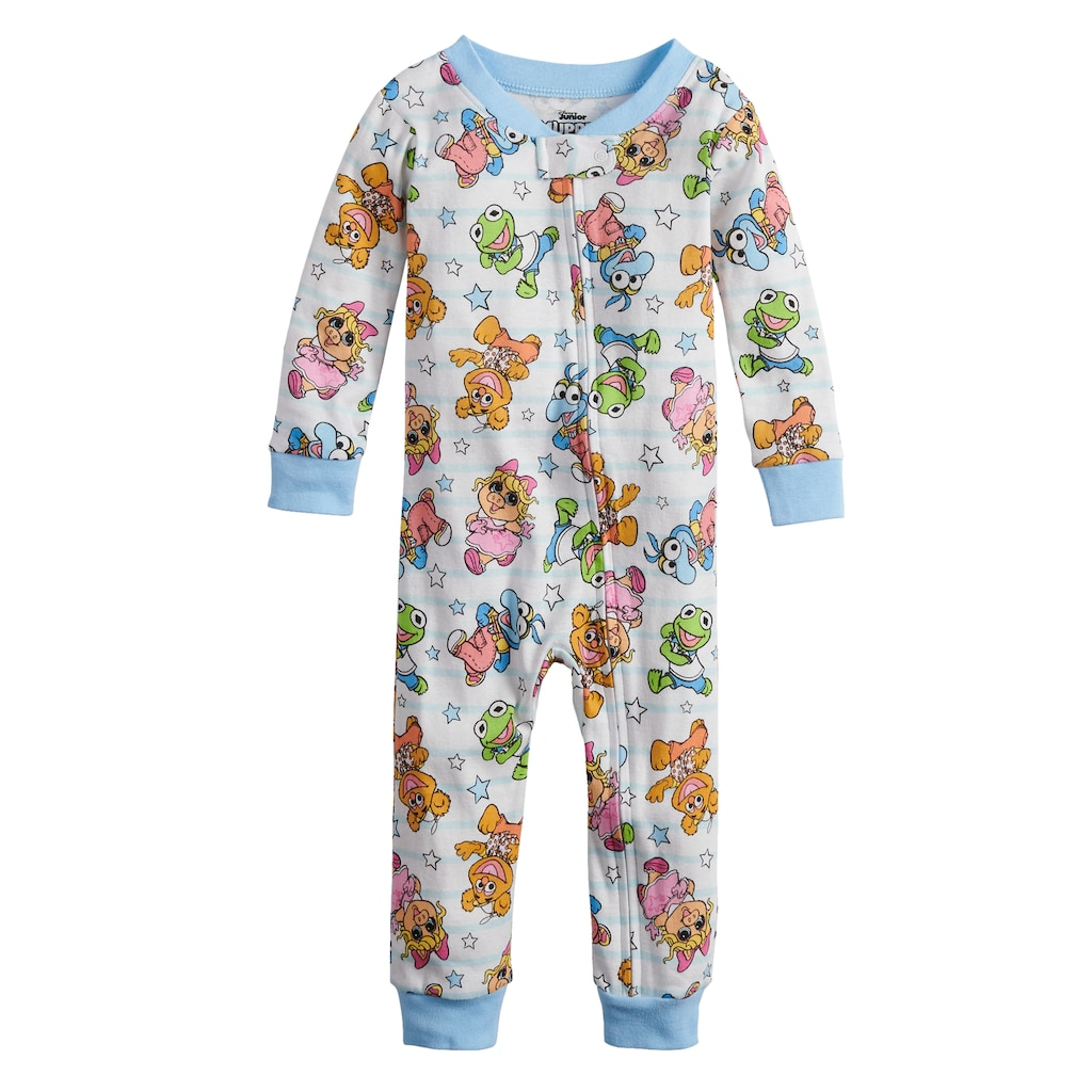 DISNEY THE MUPPET BABIES MISS PIGGY 3 PIECE BABY OUTFIT SIZE NB 3 6 9 12 18 MONT