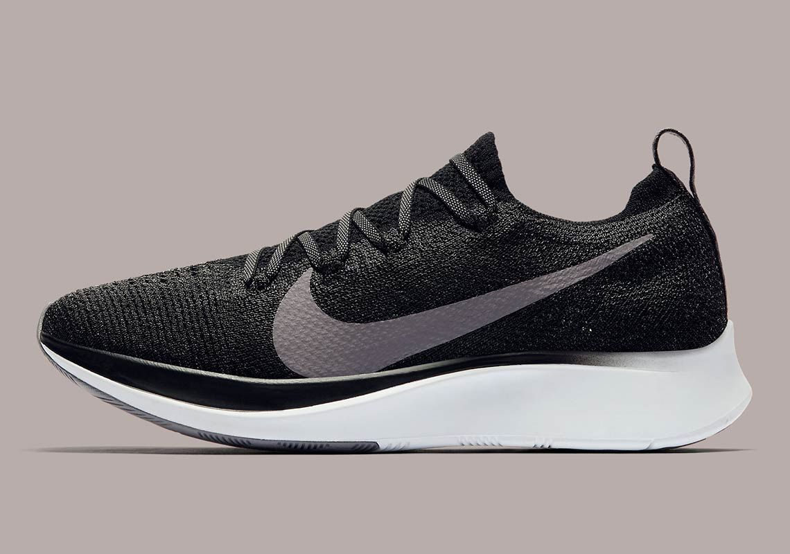 1d03d9cbdfbce The Nike Zoom Fly Flyknit Is Arriving In Black And Gunsmoke Grey ...