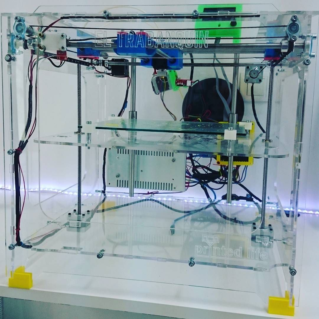 Something we liked from Instagram! It's true ya es realidad #encuentrosycreatividad #trabanquin 3dprinting #3dprinter by encuentrosycreatividad check us out: http://bit.ly/1KyLetq