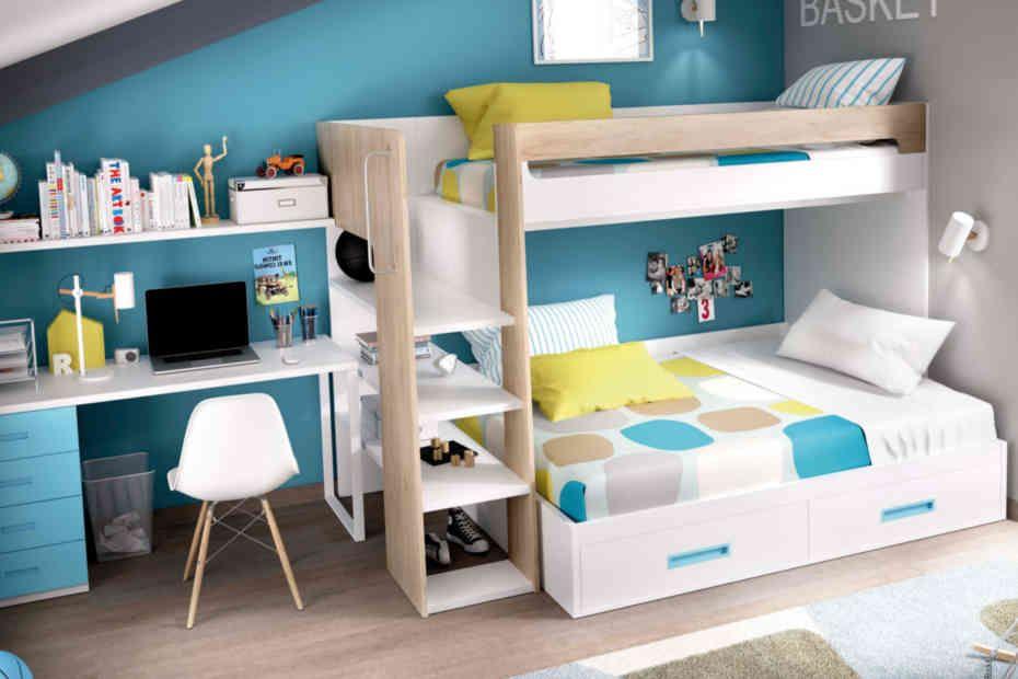 Litera maxi para colchones de 90x190cm para la cama - Quitamiedos para literas ...