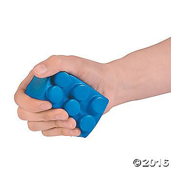 Squeeze all your stress away when you grab one of these Color Brick Stress Toys. Decked out in an assortment of bright colors, these foam toys can handle the ...