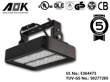 Led High Bay Light Of Aok Is The Quality Which You Can Trust High Bay Lighting Led Outdoor Flood Lights Led Lights
