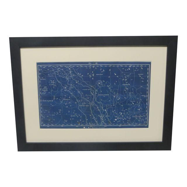 Image of 18th C. Celestial Star Map