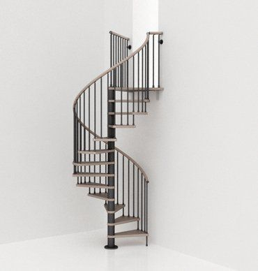Dise o de escalera de caracol elevadores pinterest for Como hacer una escalera de caracol