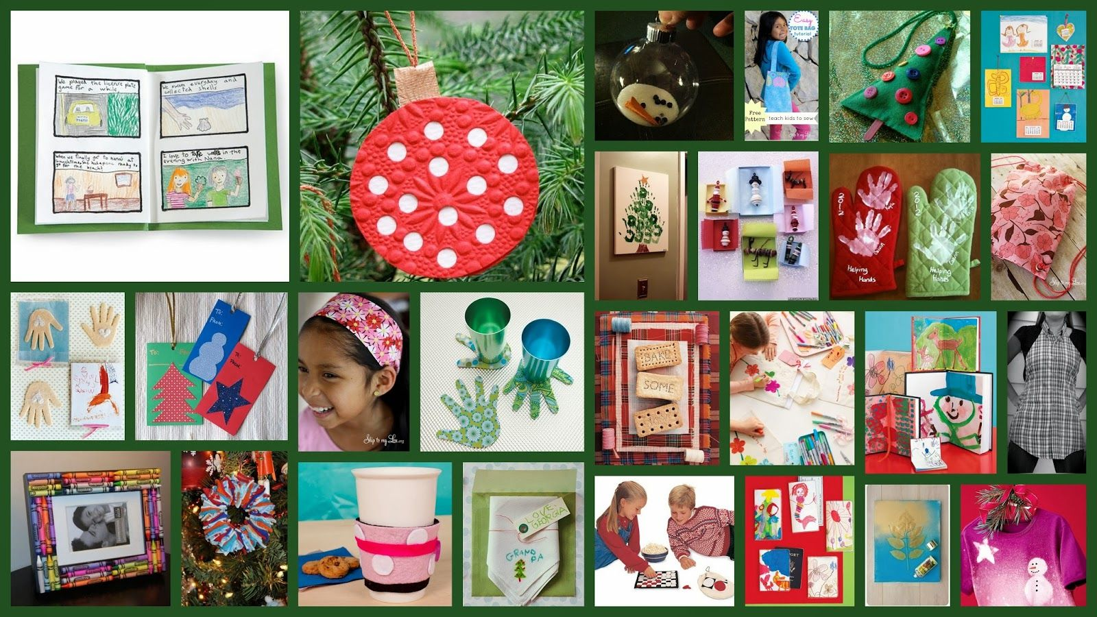 25 Christmas Gifts Kids Can Make | Mommy.... | Pinterest | Christmas ...