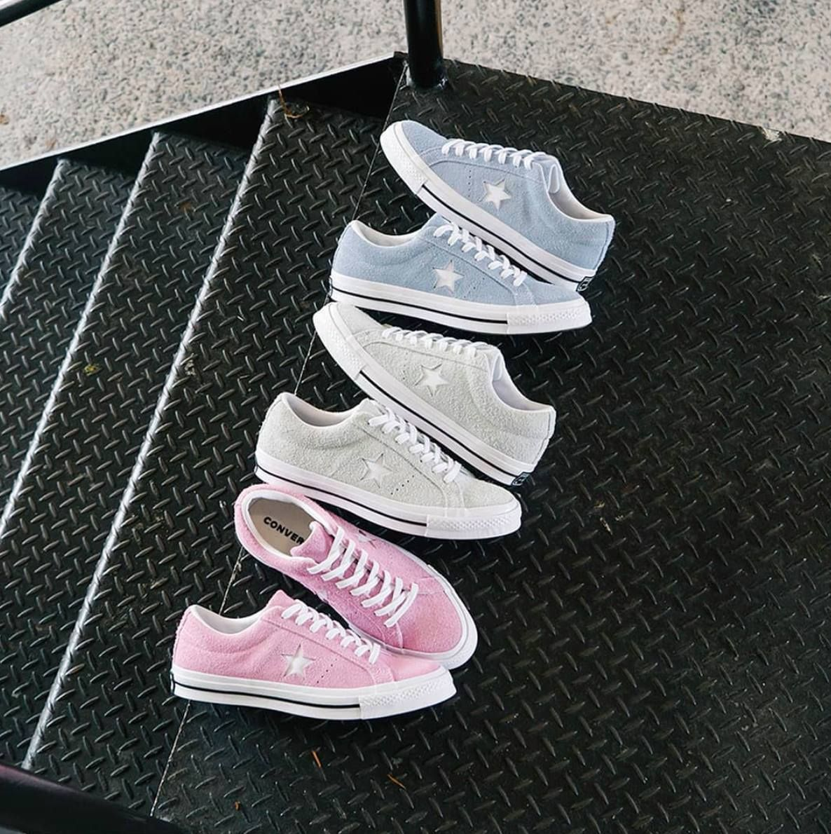 Sneakers women Converse Pastel One Star   Aesthetic shoes