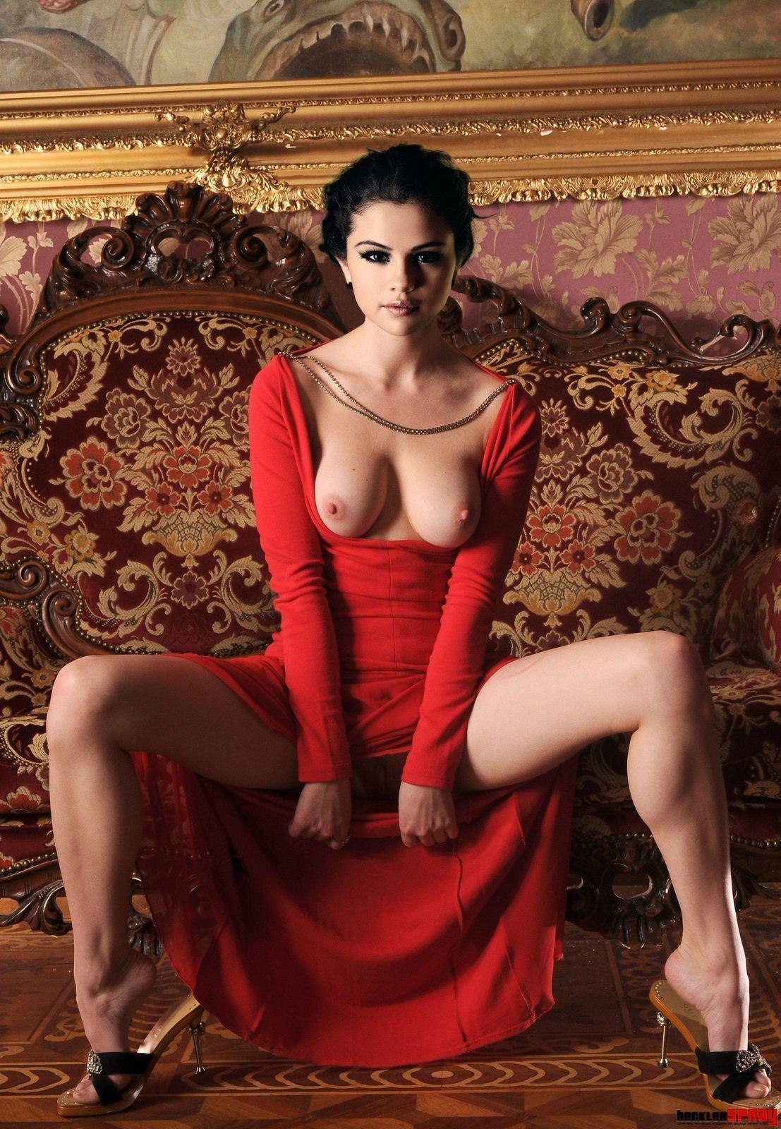 Porn selena gomez nackt fakes that cock