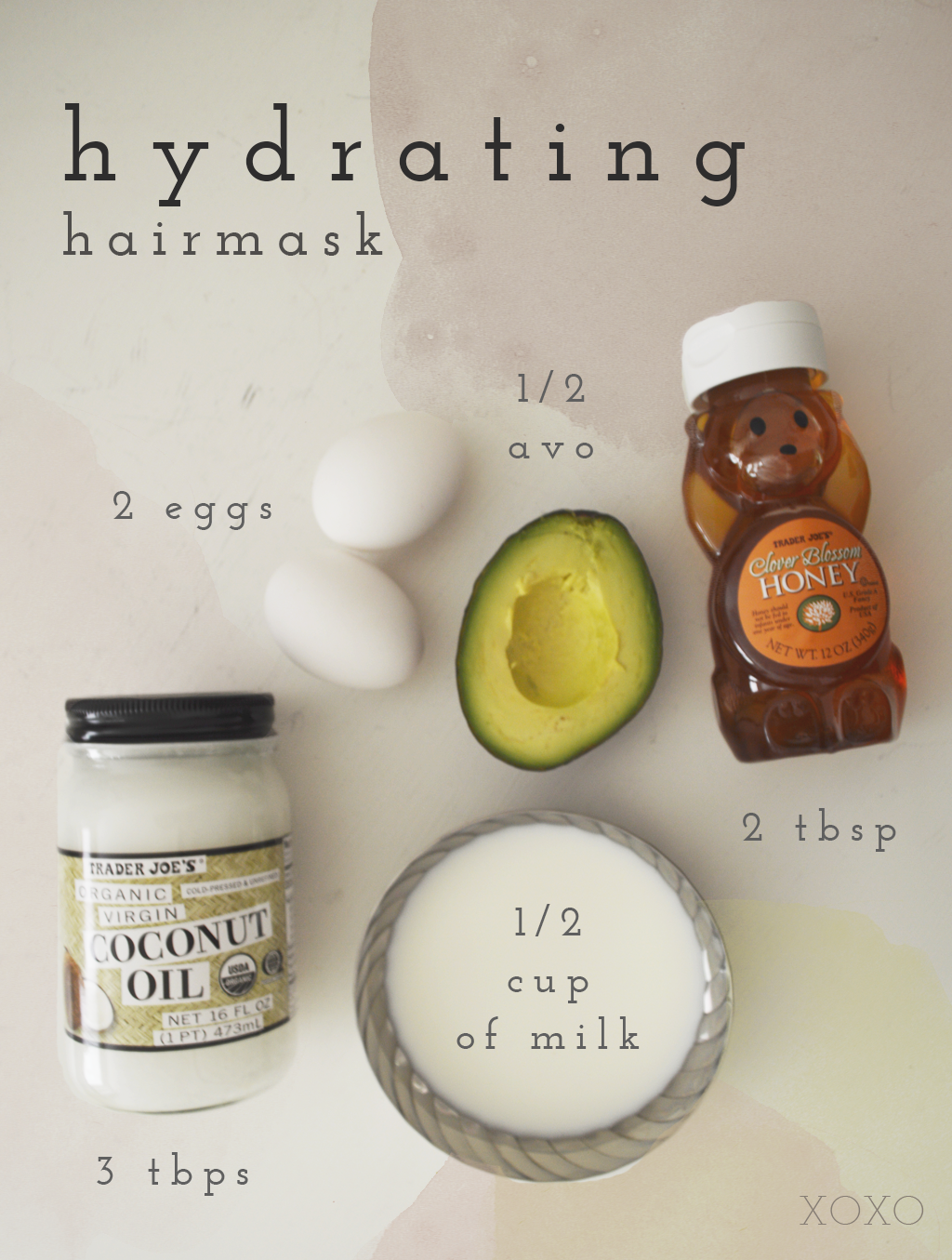 DIY Hydrating hairmask Hair mask, Diy hair treatment