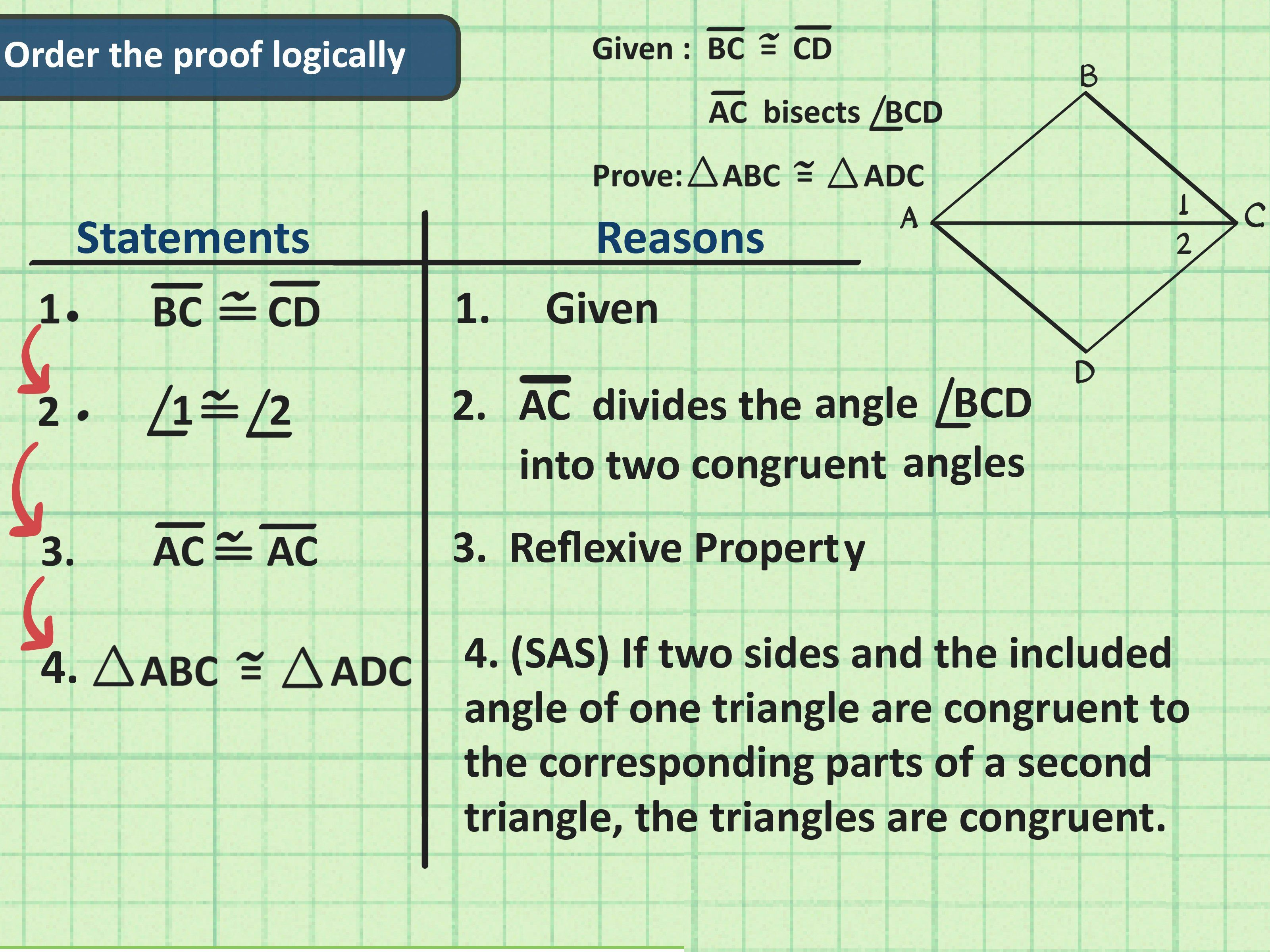 Triangle Congruence Proof Worksheet Awesome How To Write A