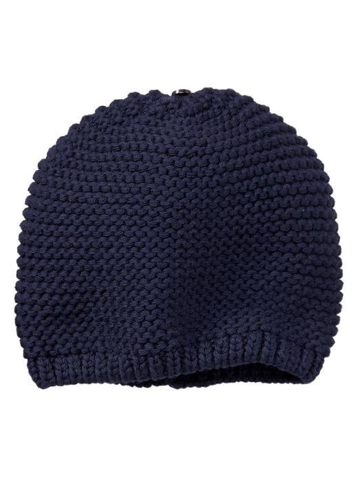 Knitting Garter Stitch Hat : Gap garter stitch knit hat baby
