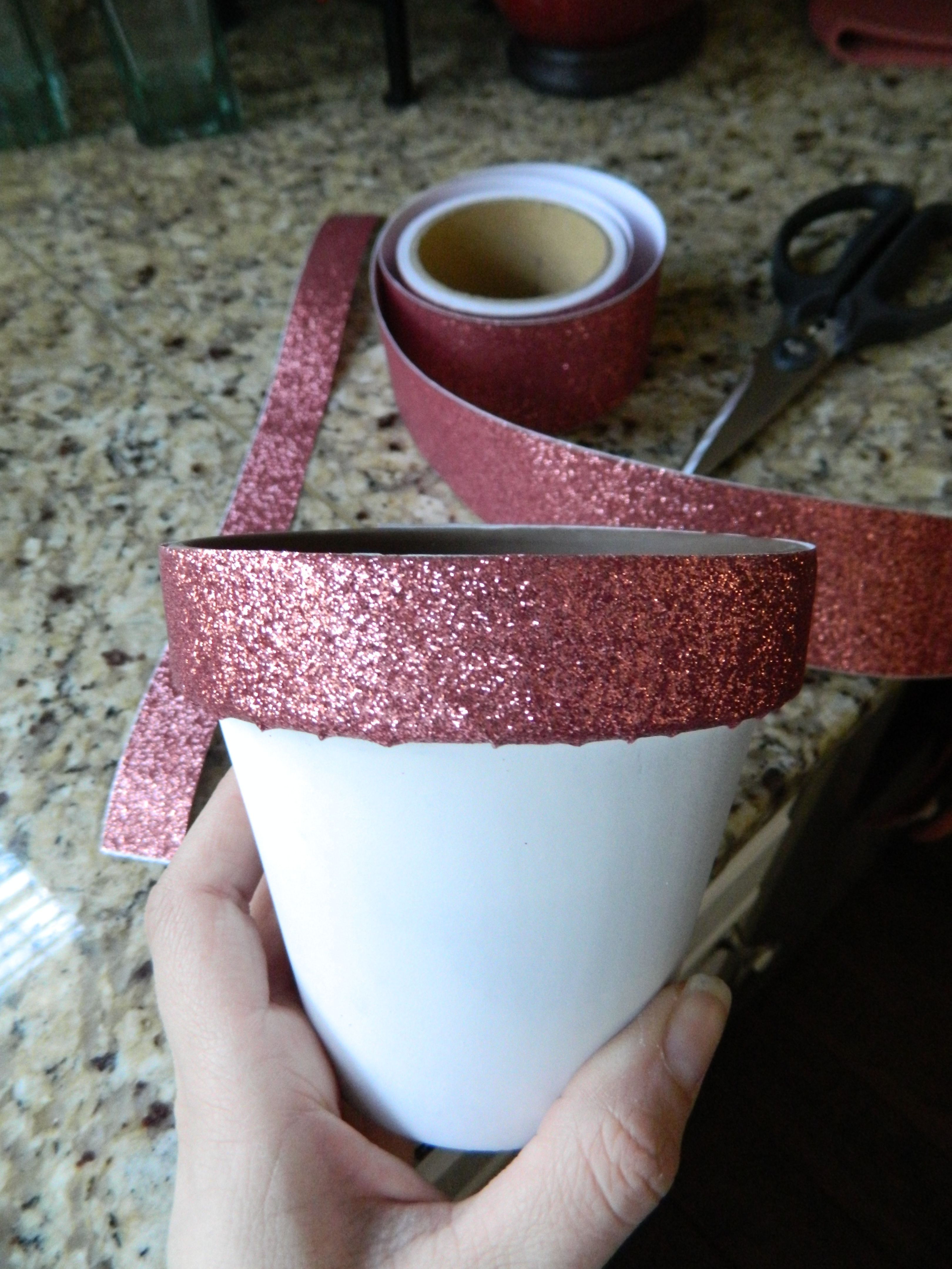 For another cool use for this glitter tape and another great diy for another cool use for this glitter tape and another great diy idea consider making solutioingenieria Image collections