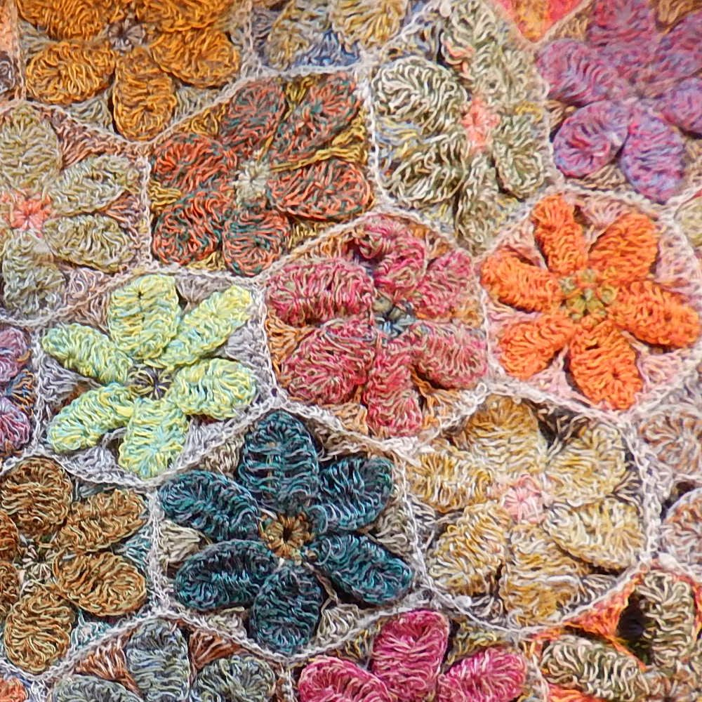 Sophie Digard crochet close up