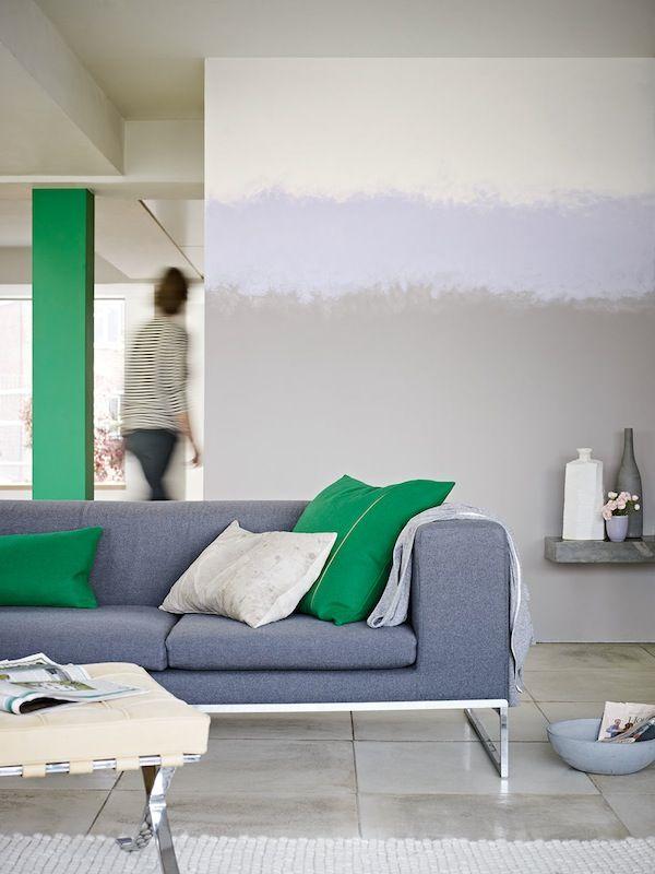 14 jolies façons de peindre les murs Half painted walls, Paint - Peindre Un Mur Interieur