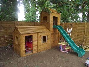 Fabrication cabane enfant recyclage palettes cabane - Maison d enfant pour jardin ...