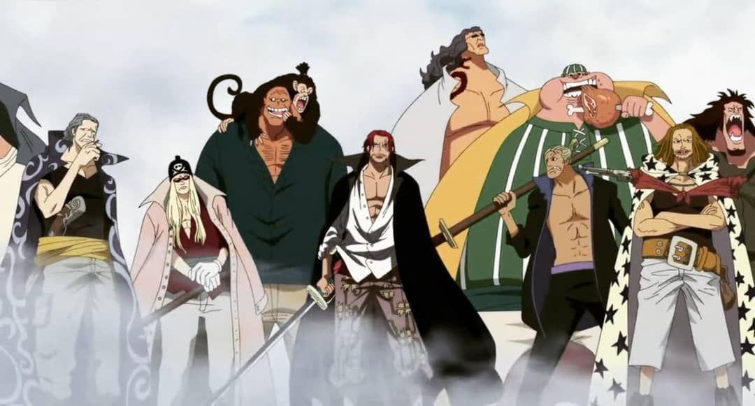 Tumblr Red Hair Pirates Manga Anime One Piece Red Hair Pirates One Piece