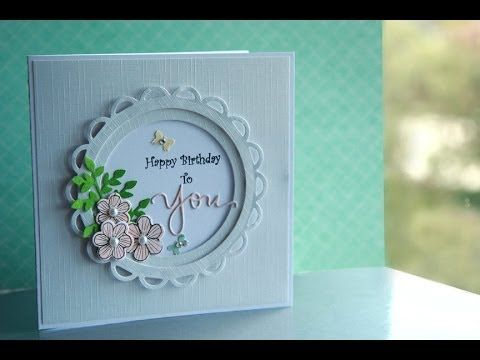 Stampin Up Video Tutorial Easy Tip for the Inside of Handmade – Happy Birthday Cards Youtube