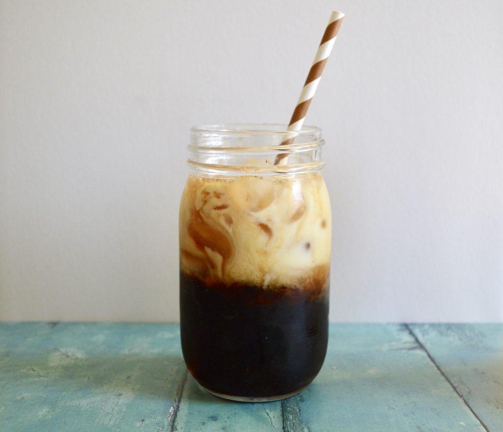 Gluten & Dairy Free Iced Latte With Homemade Cinnamon