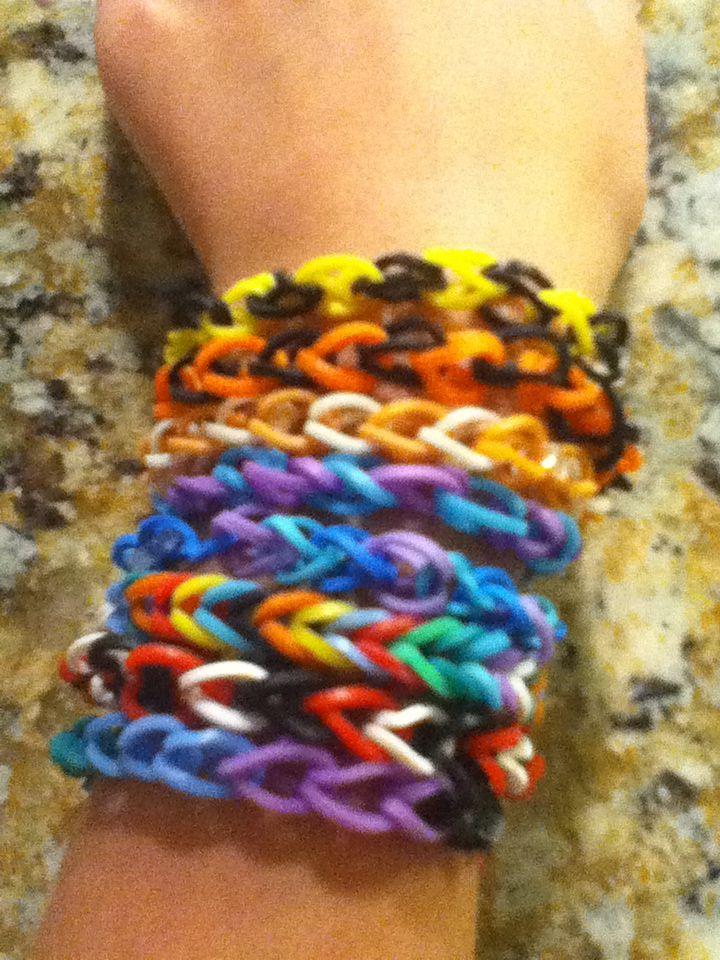 Cra Z Loom Bracelets Diy And Crafts Loom Bracelets