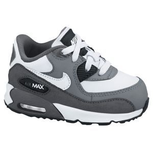 f058289162 Nike Air Max 90 - Boys' Toddler - Wolf Grey/Challenge Red/Summit White/Dark  Grey