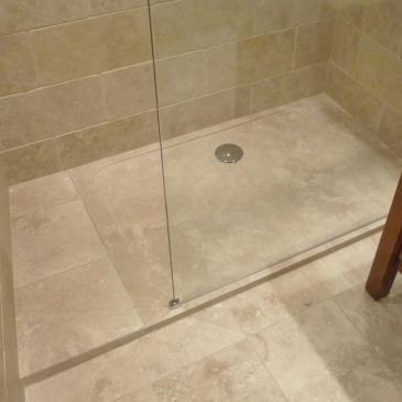 Receveur de douche en pierre 90x90x3cm Venezia salle de bain ...