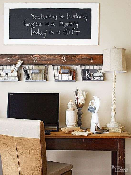 Rustic Wall Decor Ideas With Images Farmhouse Office Decor