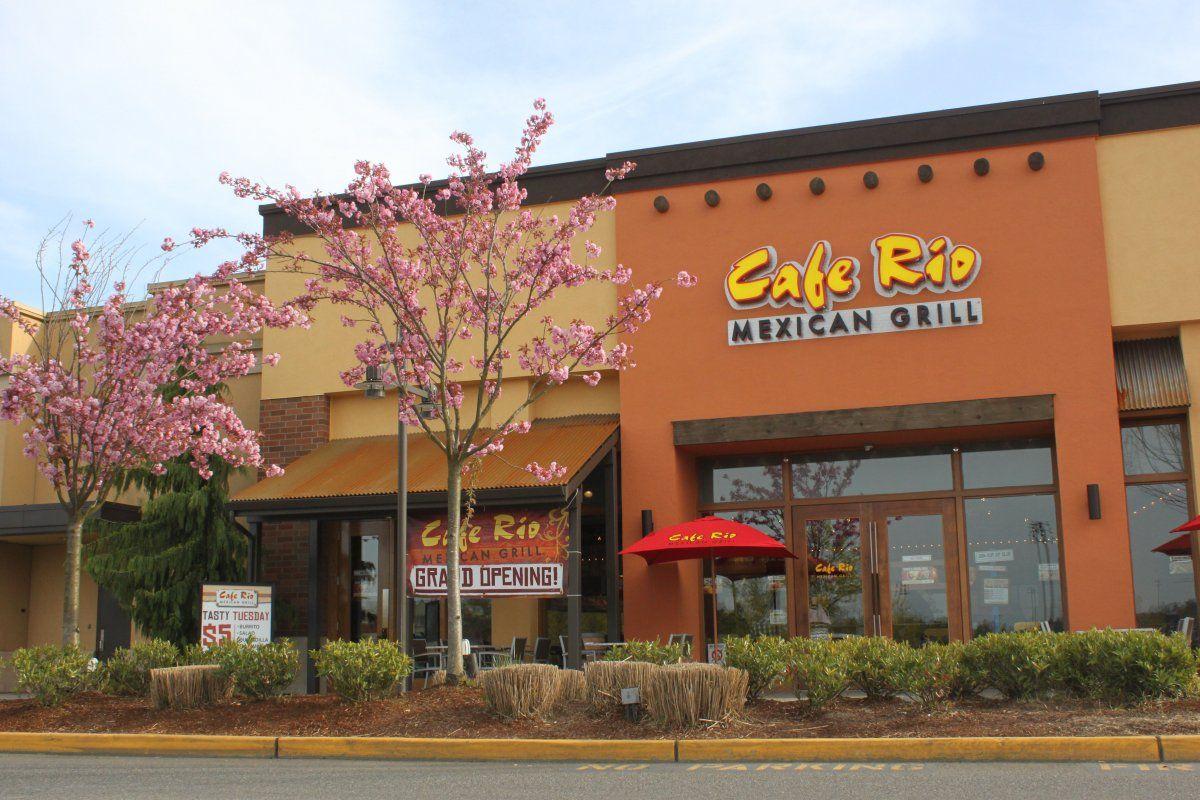 Cafe Rio Mexican Grill Lynnwood Eastside Restaurants