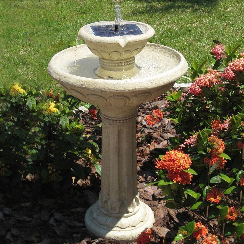 c54899a44941b226eb4938bbe5087a89 - Smart Solar Gardens 2 Tier Solar On Demand Fountain
