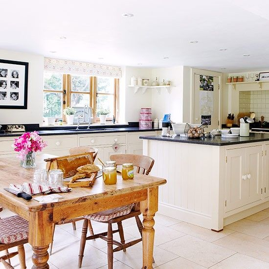Country Style Kitchens 2013 Decorating Ideas: Open-plan Kitchen Design Ideas