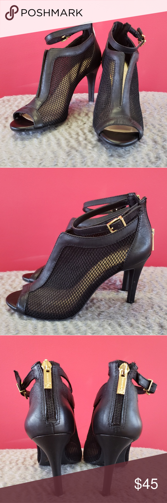 Jessica Simpson Mesh Pump Only Worn Once Like New Plastic Shoe Inserts Included To Maintain Shape Shoes Heels