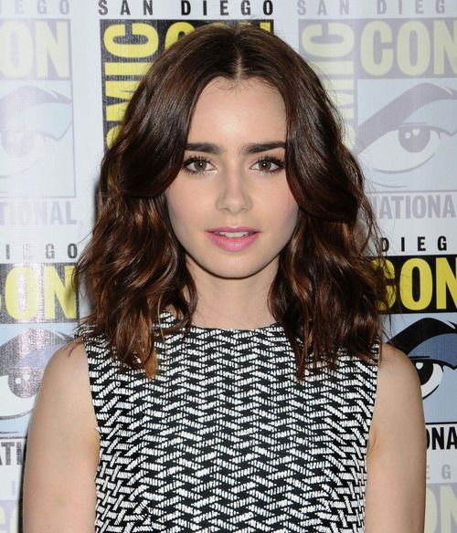 Lily Collins Style Lily Collins Short Hair Short Hair Styles Hair Lengths