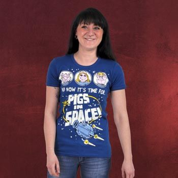 Muppets - Pigs In Space T-Shirt