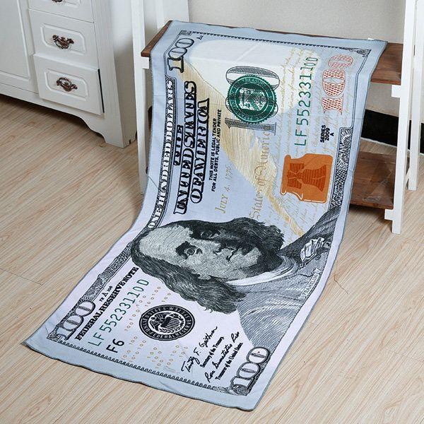 70x140cm New 100 Dollar Bill Microfiber Soft Beach Bath Towels Absorbent Quick Dry Washcloth Microfiber Bath Towels Beach Bath Towels Beach Towel