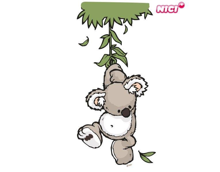 Wandtattoo Wild Friends Koala Joey Easy Drawings Pinterest
