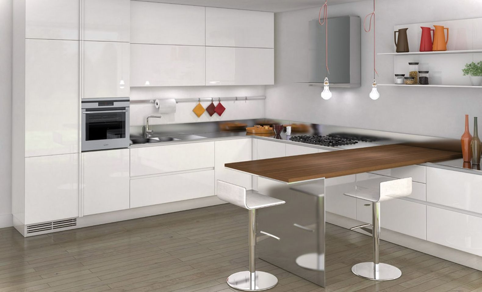 Nerokas keitti n p yt pieneen keitti n taittuva jalka for Kitchen designs and more