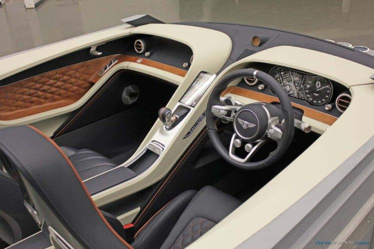Bentley Interior Design Director On The Exp10 Speed6 Concept 车