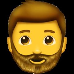 Bearded Person On Emojipedia 11 1 Emoji Beard Smiley Emoji