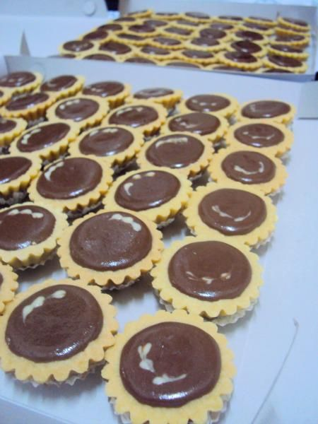 Duniaku Chocolate Cheese Tart Cokelat Tar Resep