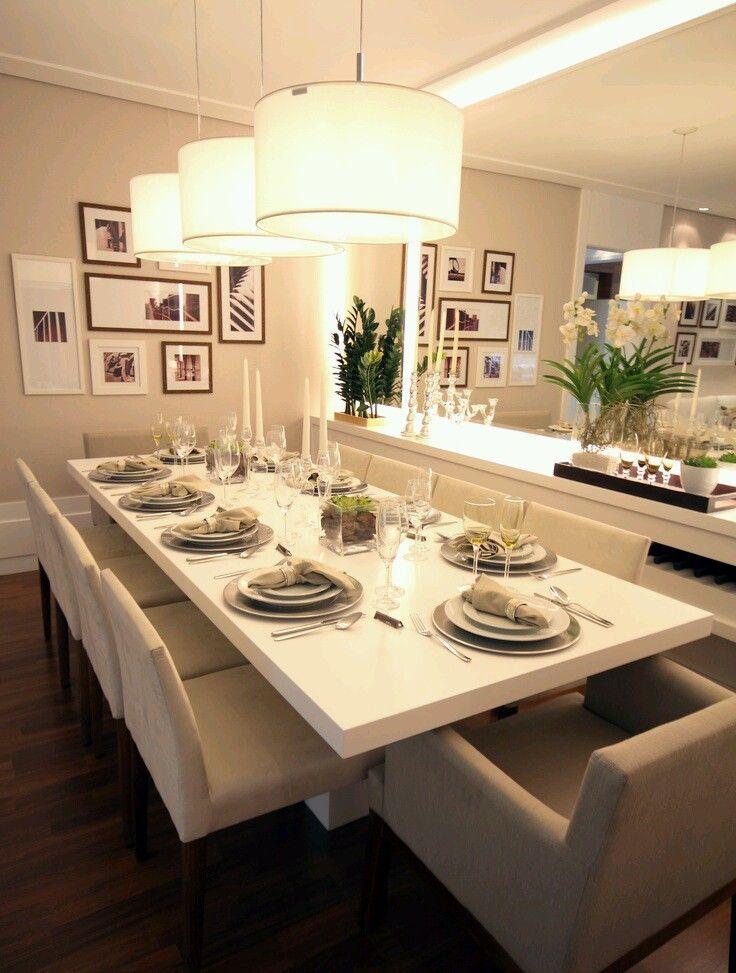 Como decorar comedores modernos (16) | mesa comedor | Pinterest ...