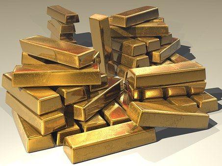 Zlato, Žemľa, Zlatý, Poklad
