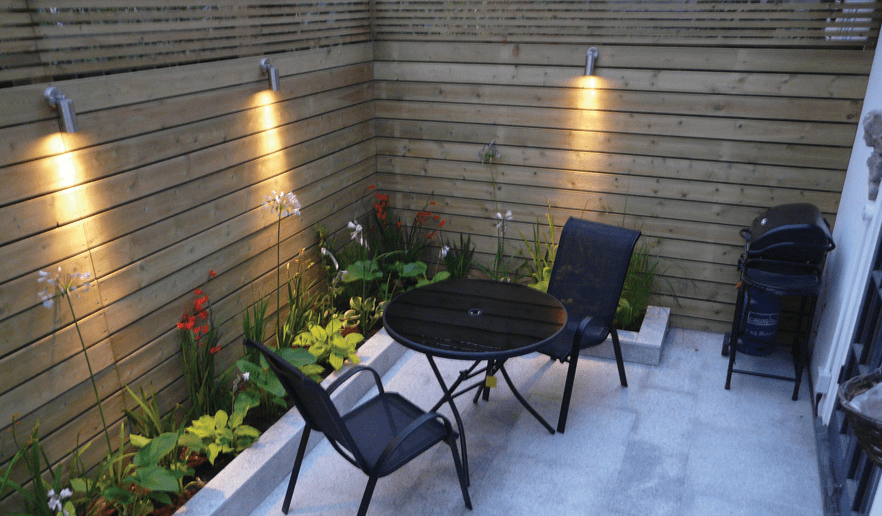 20 Beautiful Ways To Small Garden Lighting Ideas Inspira Spaces Backyard Patio Garden Spaces Backyard
