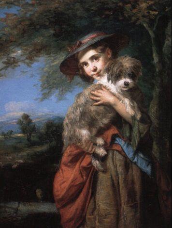 """The New Puppy,"" 1868 -- by John Thomas Peele (British, 1822–1897)"