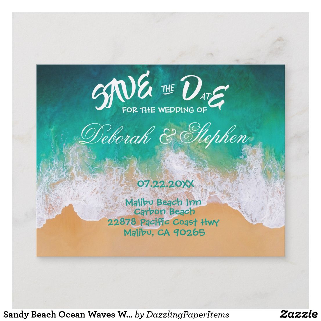 Pin En Save The Date Cards