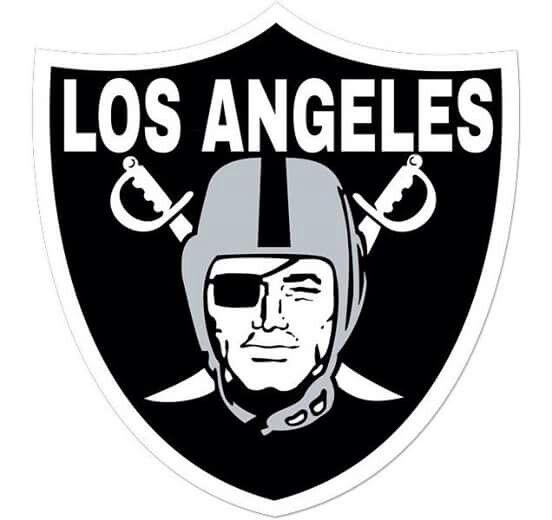 Los Angeles Raiders Oakland Raiders Logo Raiders Football Oakland Raiders Football