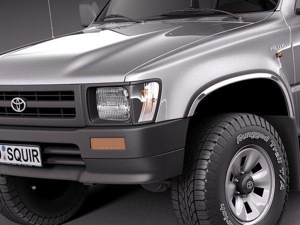 3d model japan 1989 toyota 1997 in 2020 | Toyota, Toyota ...