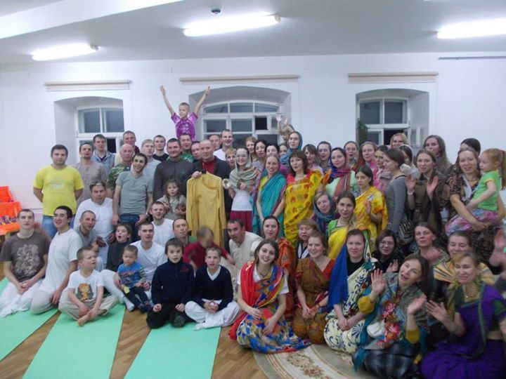 Program in KIrov, Russia 16 Nov 2014 (Album 50 photos) For a devotee, liberation is no problem at all. The impersonalists undergo severe penances and austerities to attain mukti, but the bhakta,...