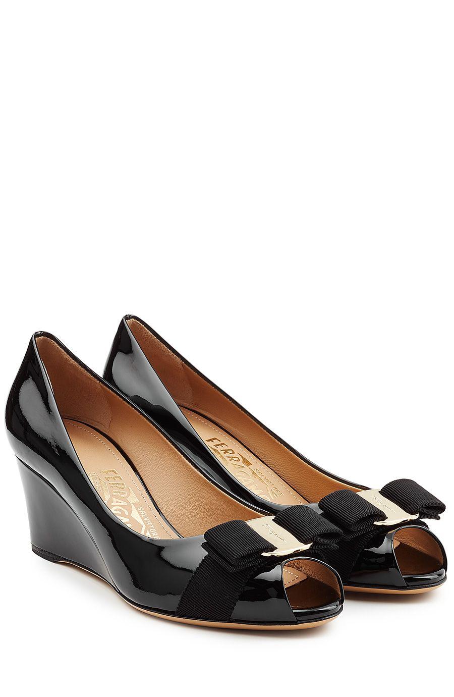 Salvatore Ferragamo Square-Toe Leather Flats free shipping sneakernews tumblr cheap online clearance shopping online free shipping perfect pSw9A0UE